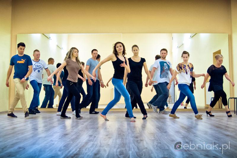 Pierwsze zajęcia w szkole tańca